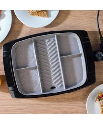 Grey multi-portion non-stick grill 1500W