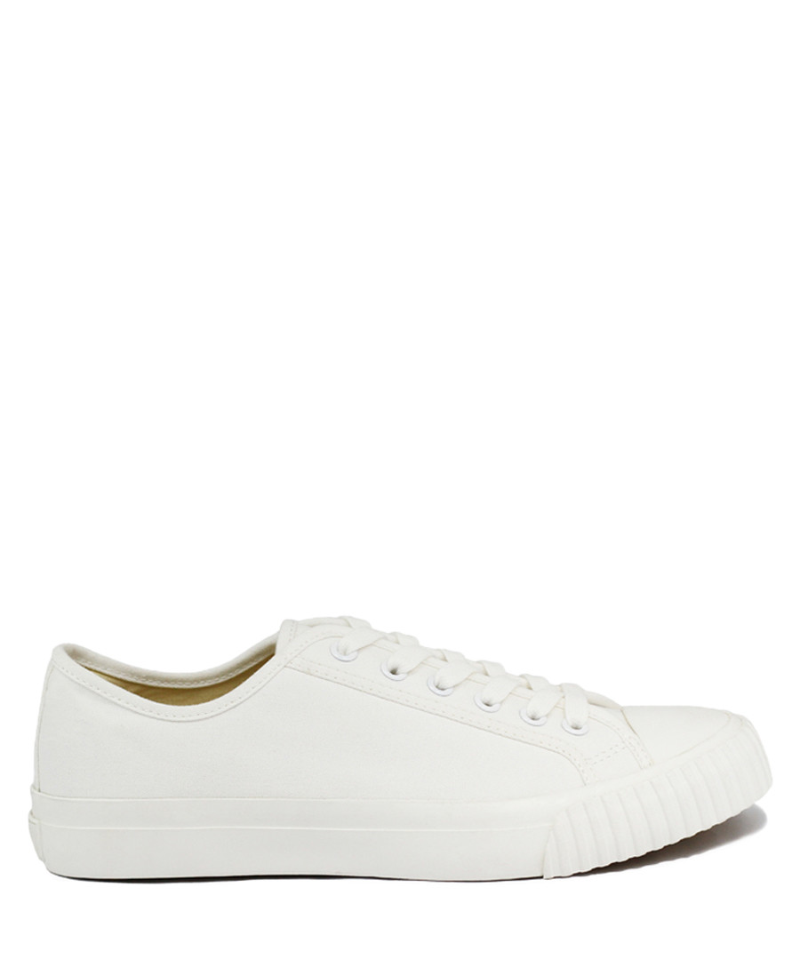 Off white canvas sneakers Sale - BATA