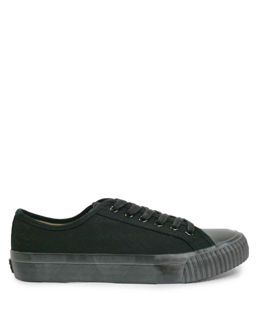Bullets black canvas sneakers Sale - BATA