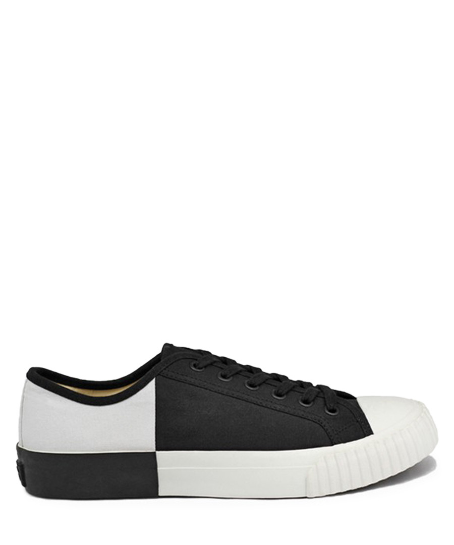 Black & white canvas sneakers Sale - BATA