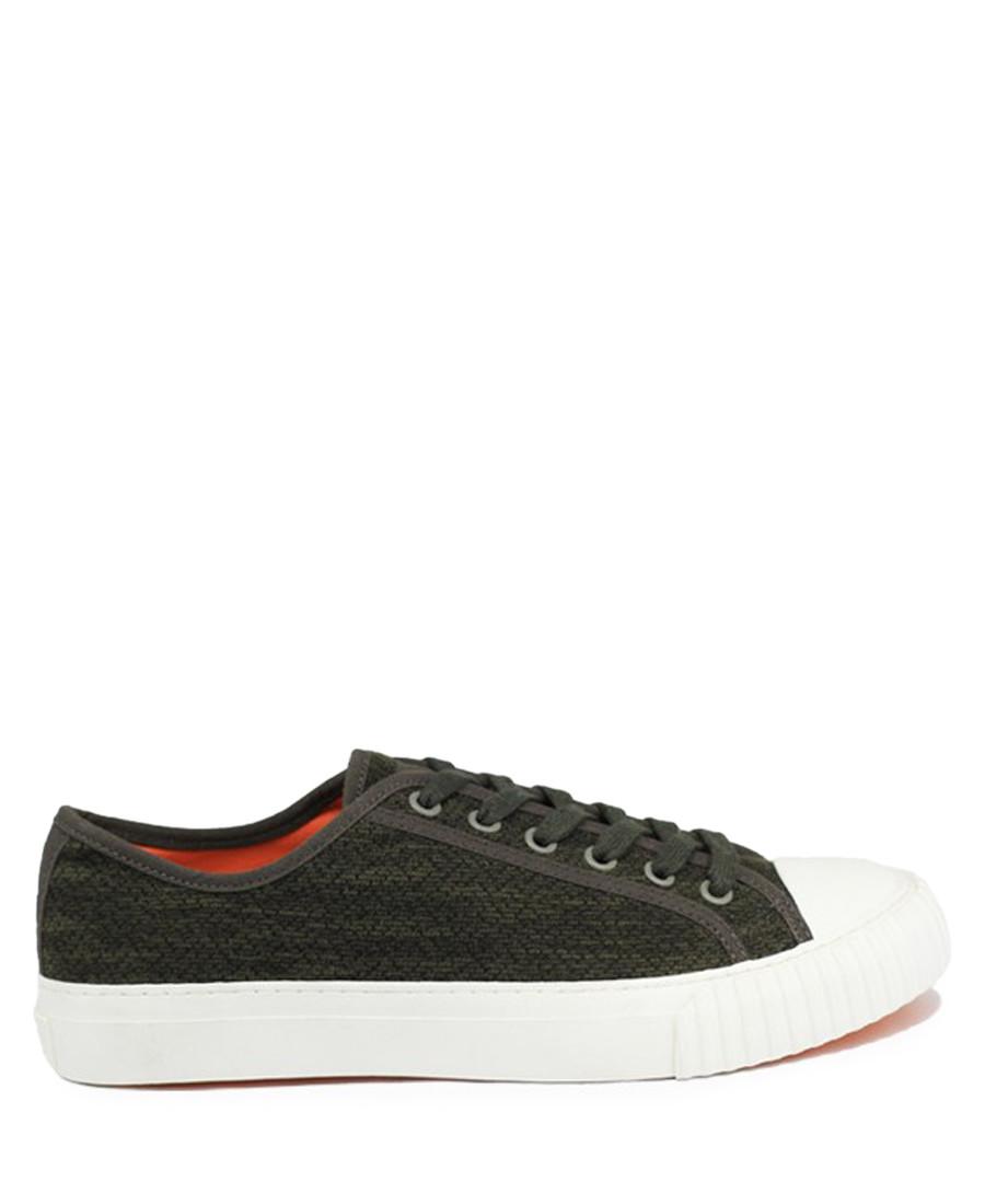 Dark olive knit sneakers Sale - BATA
