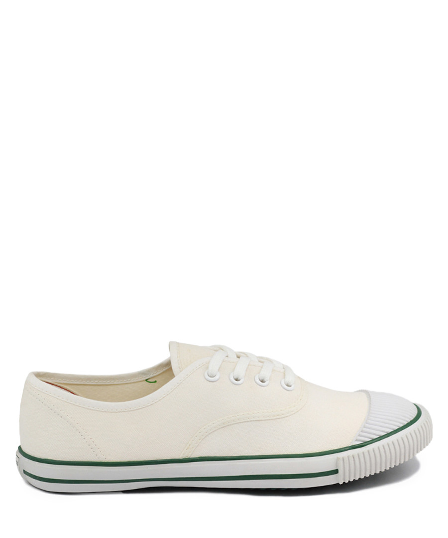 Cream canvas tennis sneakers Sale - BATA