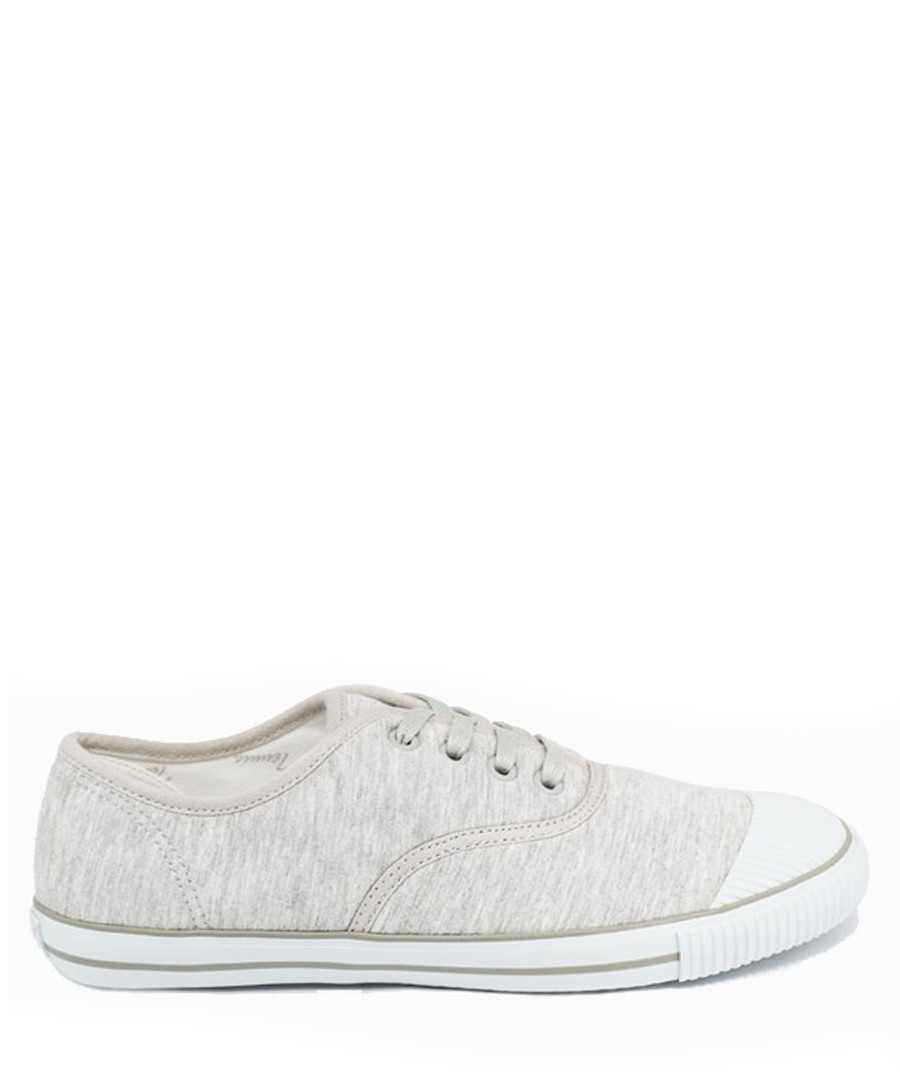 Light grey & white felt tennis sneakers Sale - BATA