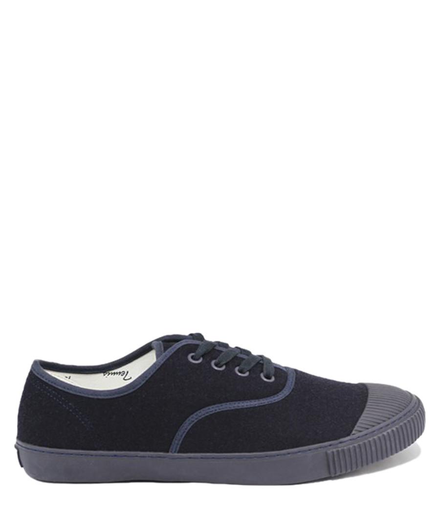 Blue wool tennis sneakers Sale - BATA