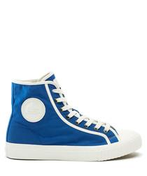 Julien David x Bullets blue sneakers