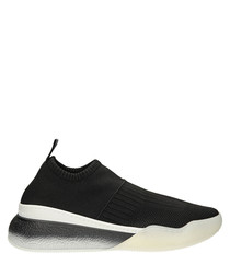 Loop black & white sock sneakers