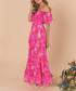 Melrose sunset pink silk maxi dress Sale - ATHENA PROCOPIOU Sale