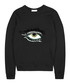 Black pure cotton embroidered jumper Sale - Uzma Bozai Sale