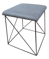 Grey structured stool