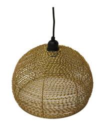 Gold-tone lamp