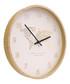Natural wood world map wall clock Sale - Maiko Sale
