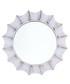 Moonlight white wall mirror Sale - Maiko Sale