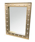 Gold-tone LED wall mirror Sale - Maiko Sale