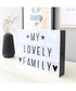 81pc white LED light box & letters Sale - Maiko Sale