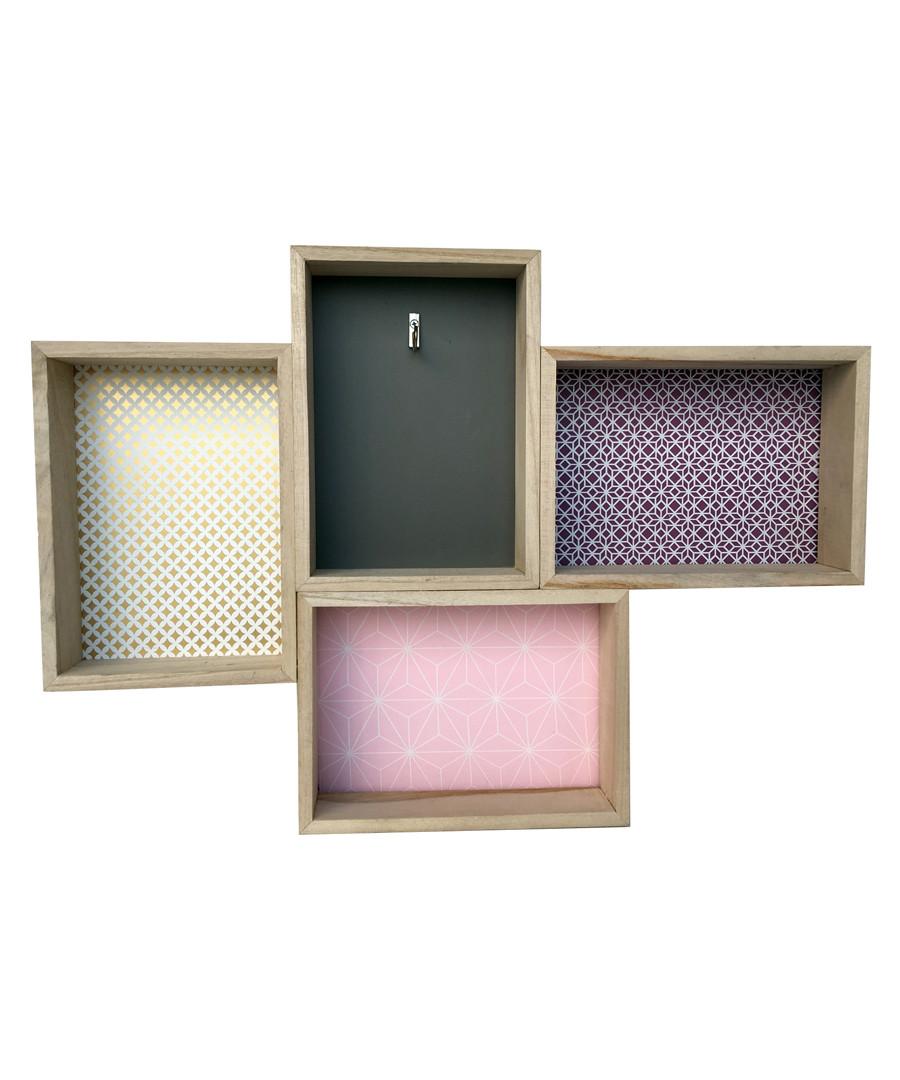 Natural wood shelf Sale - Maiko