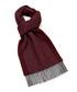 Dales wine lambswool scarf Sale - bronte Sale