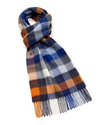 Dales multicolour lambswool scarf