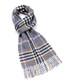 Dales navy & multi lambswool scarf Sale - bronte Sale