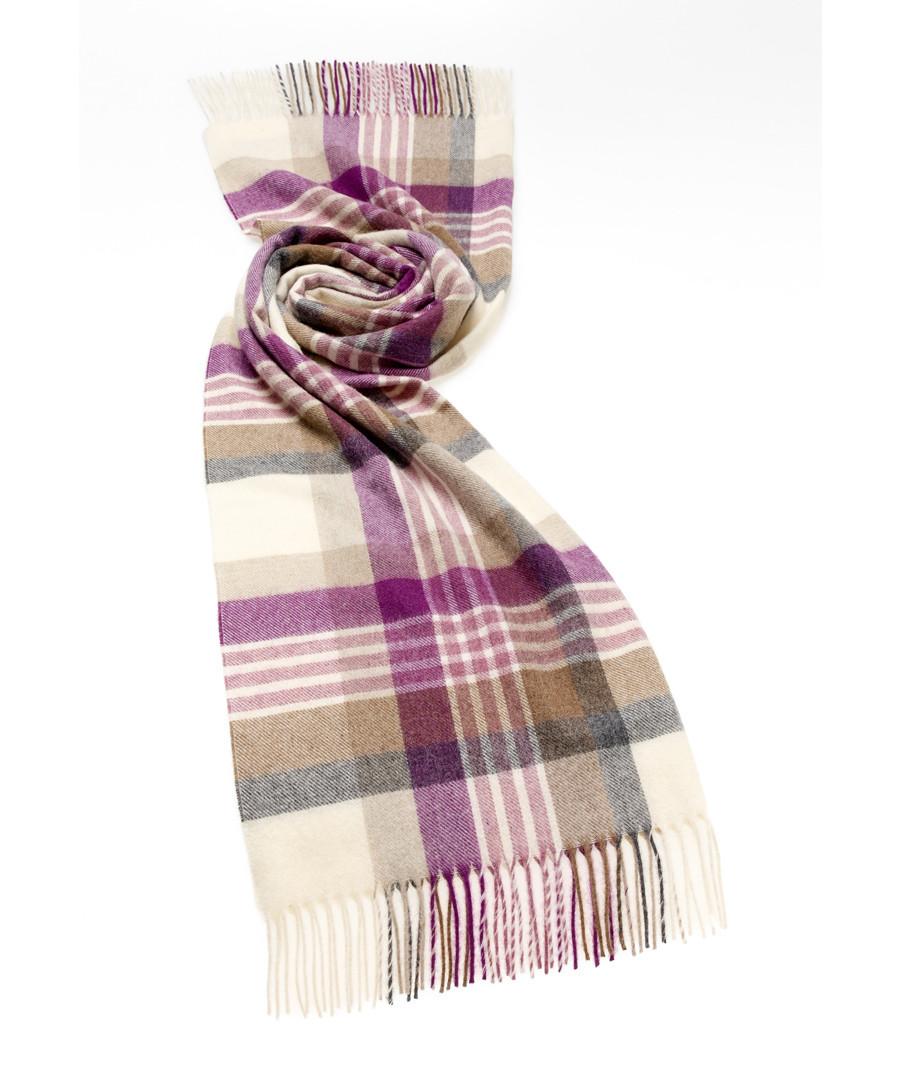 Newsam lilac lambswool scarf Sale - bronte