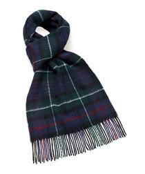 Mackenzie tartan lambswool scarf
