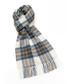 Stewart blue lambswool scarf Sale - bronte Sale