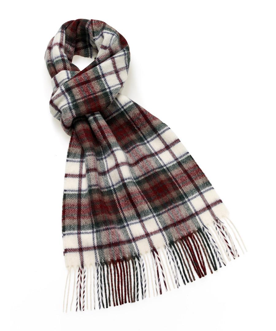 Macduff tartan lambswool scarf Sale - bronte