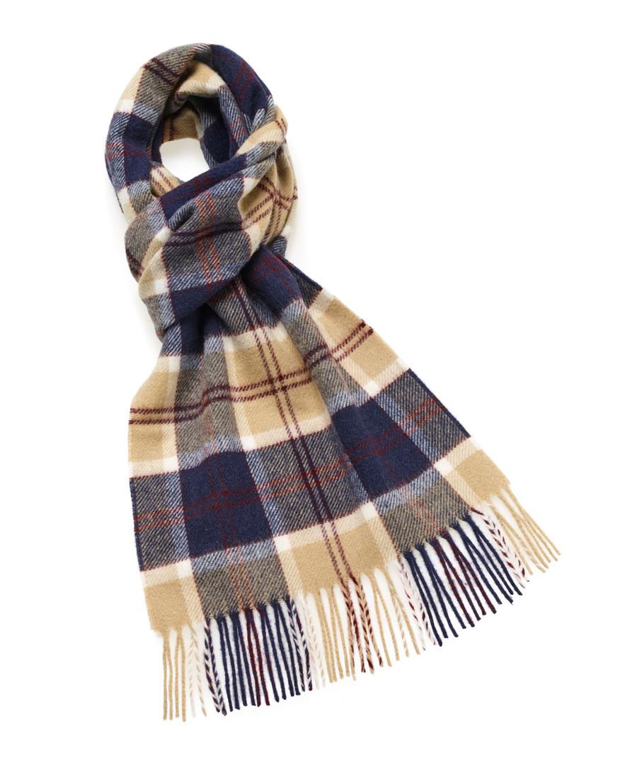 Tartan check lambswool scarf Sale - bronte