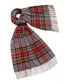 Kildwick grey & red lambswool scarf Sale - bronte Sale