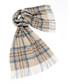 Kildwick natural & aqua lambswool scarf Sale - bronte Sale