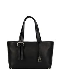 The East West Dean black shopper bag