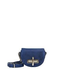 Mini Niven blue cross body bag