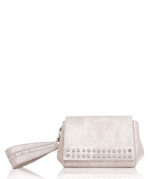 The Heston sand studded clutch