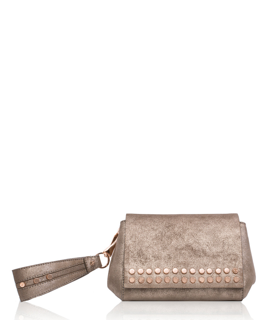 The Heston mustang studded clutch Sale - Amanda Wakeley