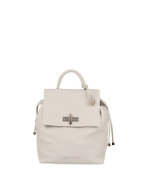 The Mini Elba mineral leather backpack