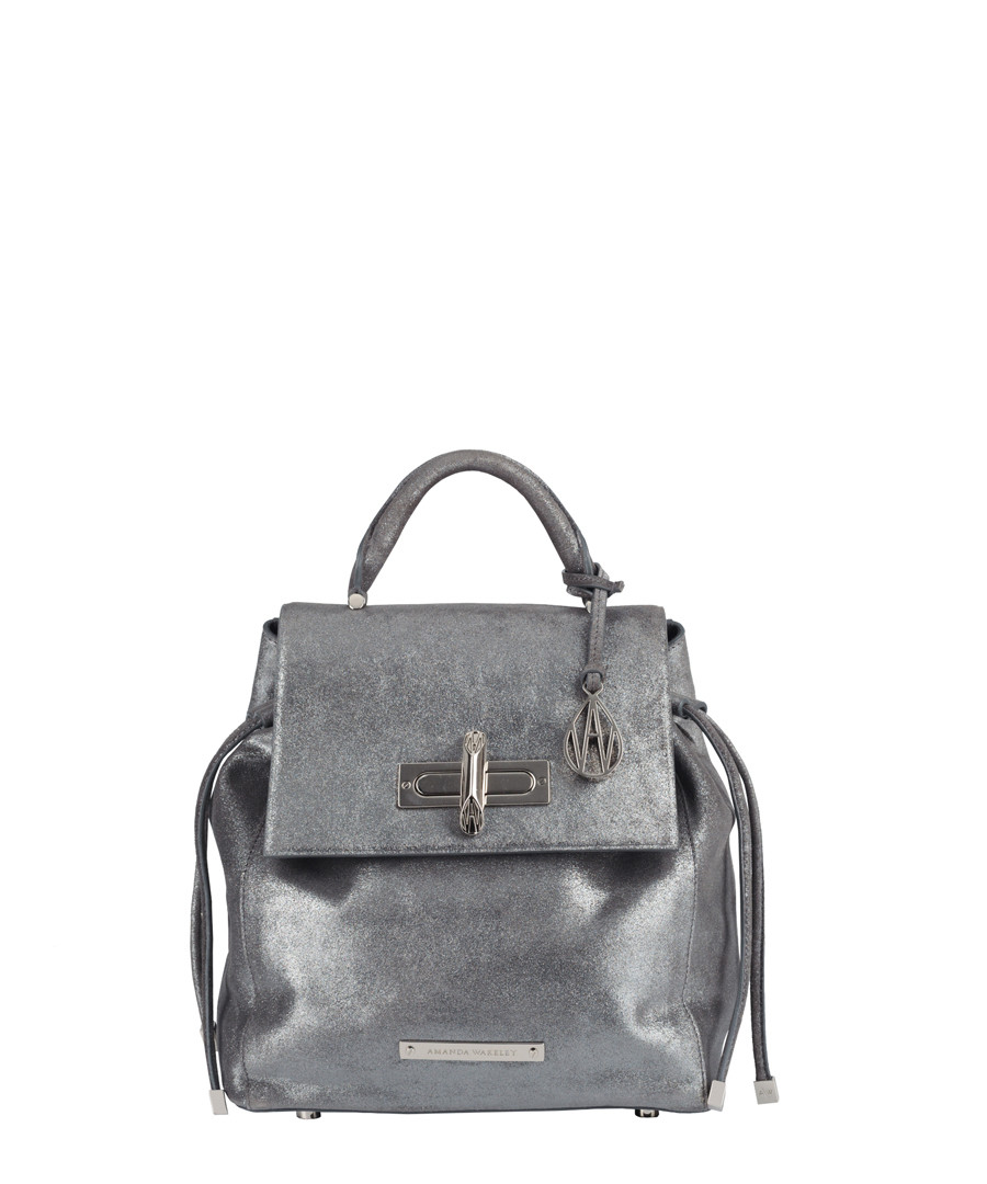 The Micro Mini Elba leather backpack Sale - Amanda Wakeley
