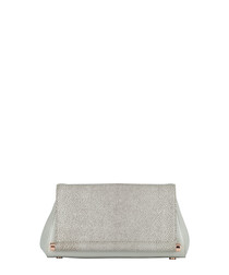 The Brooks mineral leather clutch
