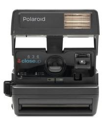 Polaroid 600 One Step Close Up camera