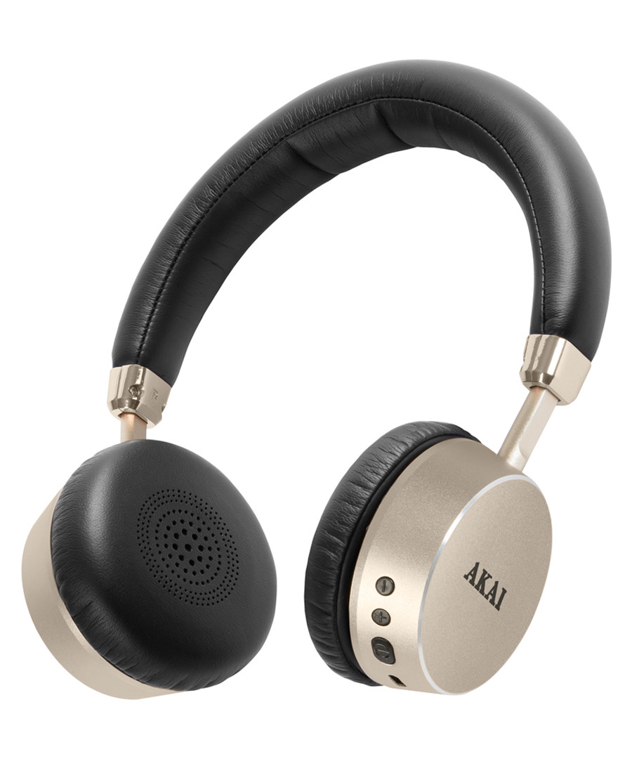 Dynmx gold-tone bluetooth headphones Sale - Akai