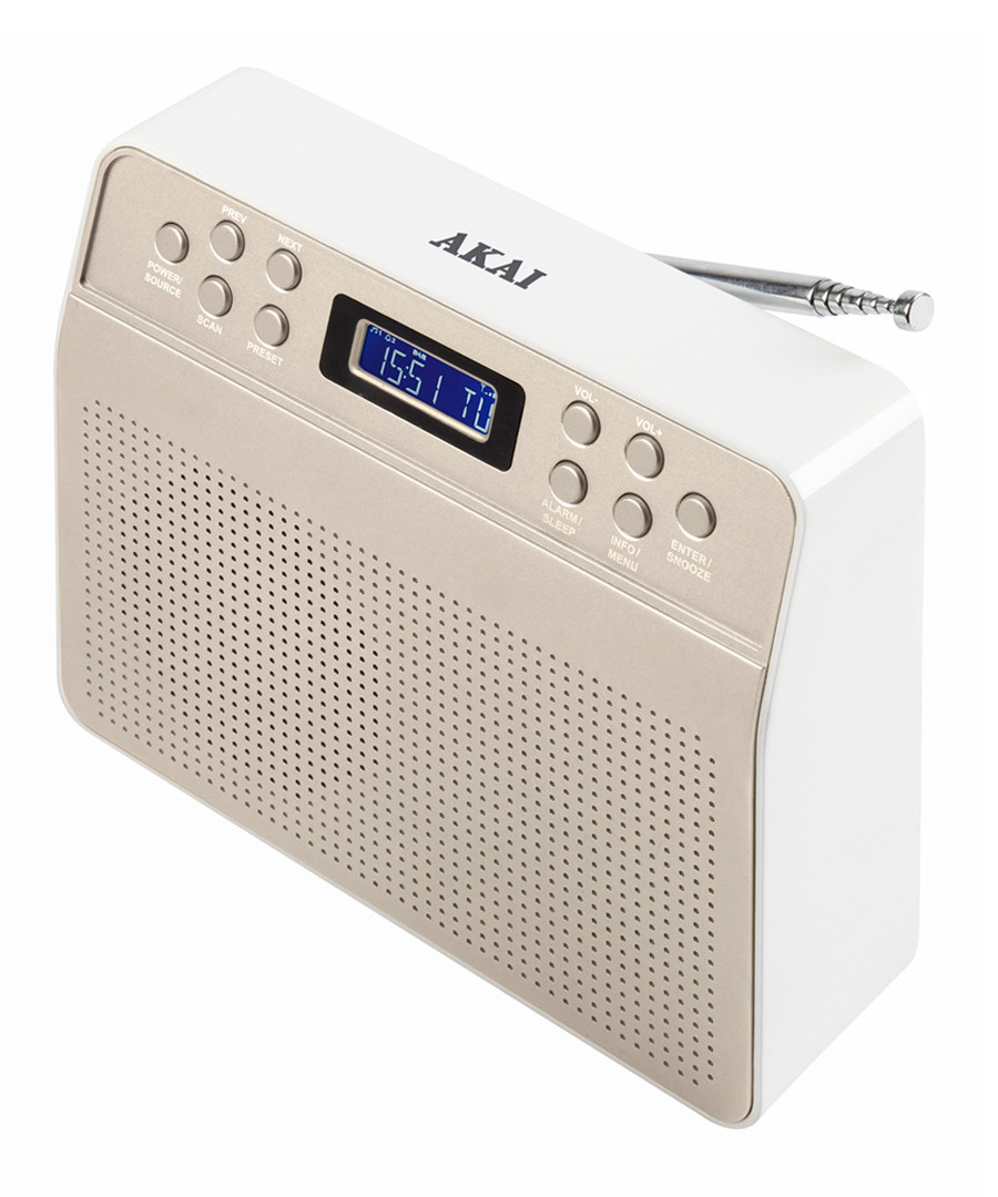 Nude portable DAB radio Sale - Akai