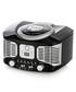 Black retro bluetooth CD boombox Sale - Akai Sale