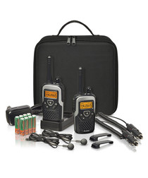 Action Plus black travelling pack