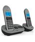 2pc grey & black cordless home phone Sale - Akai Sale