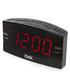 Black jumbo LED alarm clock radio Sale - iTek Sale