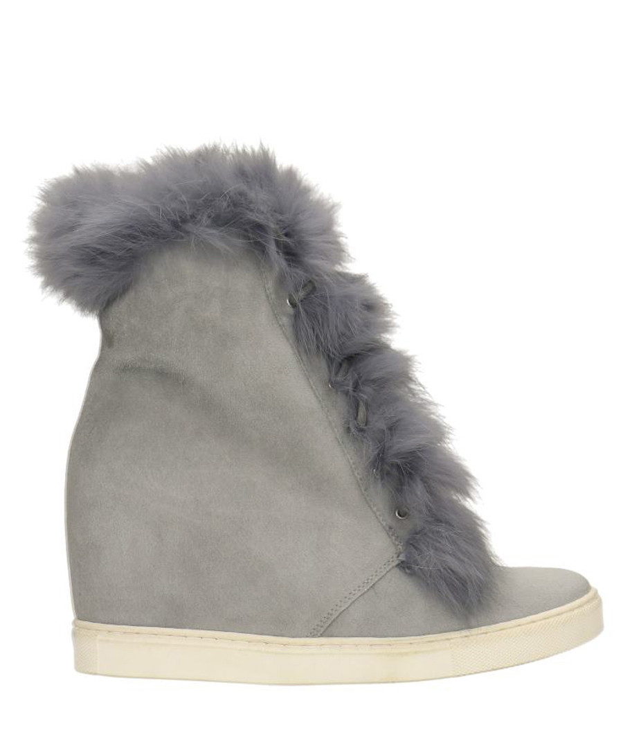 Grey leather ankle boots Sale - gino rossi