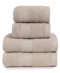 4pc Kingston pebble cotton towel set
