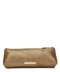 The Mercury brown leather pouch