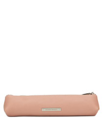 The Small Mercury pink leather pouch