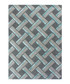 Botanical grey & blue rug 160x230cm Sale - flair rugs Sale