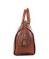 Brown leather branded bowling bag Sale - roberto cavalli Sale