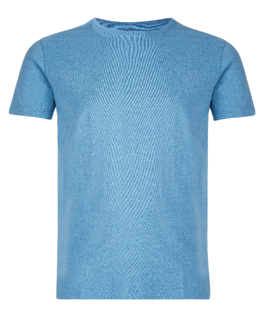 Sapphire pure cotton T-shirt Sale - Derek Rose